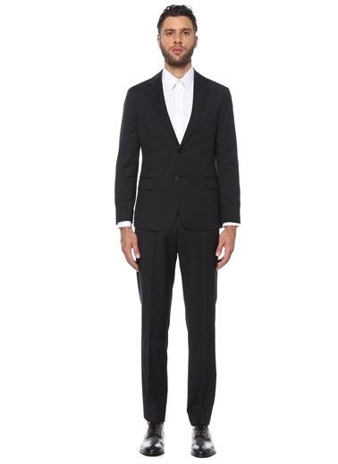 George Hogg Erkek 7004794 Slim Fit Takım Elbise Siyah